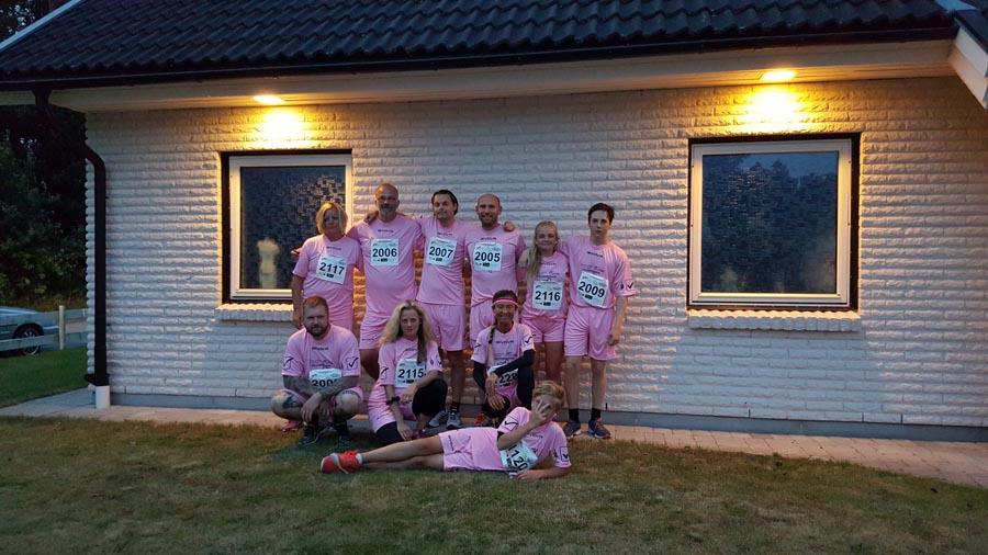 Team H-Expo deltar med glatt humör i Nattpuls 2015!