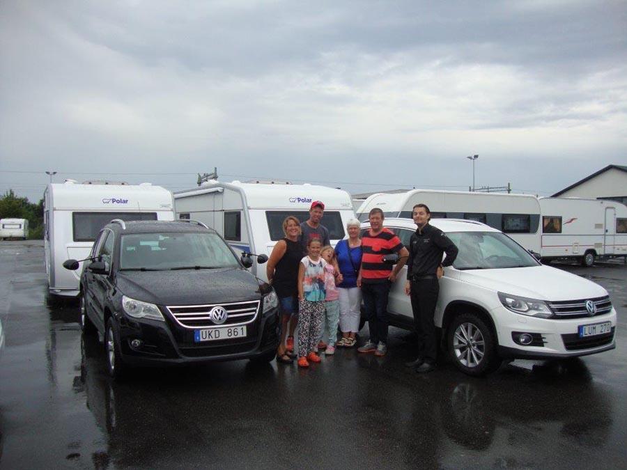Polar 2015 rullar ut från Team Husvagns-Expo Bromölla!