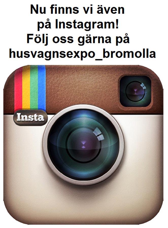 Nu även på Instagram!  husvagnexpo_bromolla