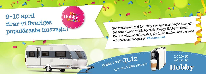 Happy Hobby Weekend 9-10 April